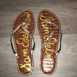 Sam Edelman python sandal